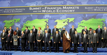 Лидеры Группы 20 - G20 major economies: G20 Leaders Summit on Financial Markets and the World Economy. Вашингтон, 15 ноября 2008 года