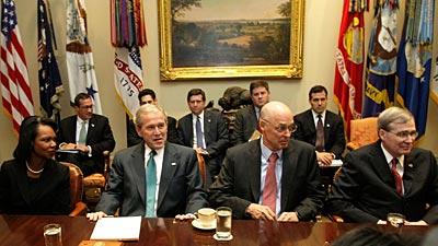 Встреча министров финансов стран G7 (плюс Россия). Обсуждение мер по борьбе с мировым финансовым кризисом