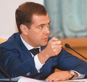 Дмитрий Анатольевич Медведев, Президент Российской Федерации