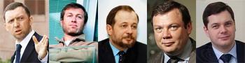 Топ-5 российских миллиардеров. Рейтинг российских миллиардеров-2008