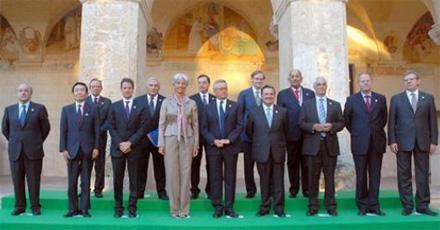 Министры финансов G8, Лечче, Италия, 12.06.2009