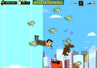 Отскок банкира - скриншот из игры
