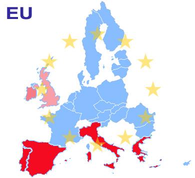 PIGS, PIIGS, PIIGGS или - EU? Государственный долг стран Европейского союза (European Union, EU) или Европейский кризис