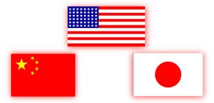 Китай - вторая экономика мира (China Is World's Second Economy). США - первая в рейтинге, Япония на третьем месте